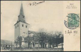 © 1911 - GERMAN REICH *** Wald *** Statue Germania