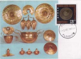 1970 BULGARIA - Gold treasure