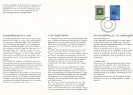 æ E 107 - 1970 Interparlementaire Unie - 25 jaar UNO Emissiegegevens PTT