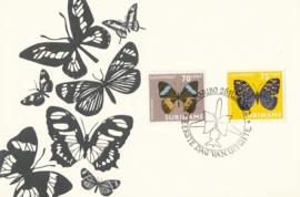 ®®® 1972 - CATA LP58/59 - SURINAME Vlinders
