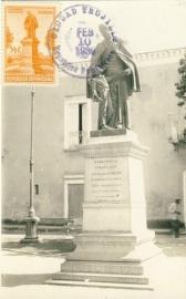 © 1939 DOMINICANA Statue F.X. Billini