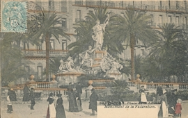 © 1906 - FRANCE Monument of the Federation - Toulon