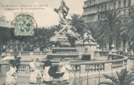 © 1905 - FRANCE Monument of the Federation - Toulon