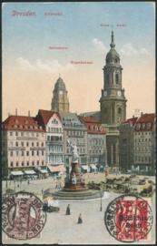 © 1921 - GERMAN REICH - Dresden Statue Germania
