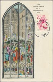 © 1932 NETHERLANDS Gouda St. John's Church