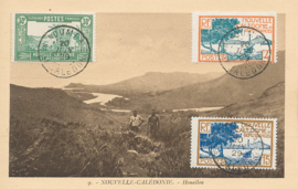 © 1929 - NEW CALEDONIA - River and mountains