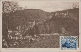 © 1926 LUXEMBOURG Castle Vianden