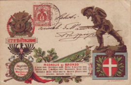 © 1903 - ITALY - House of Savoy Coat of arms