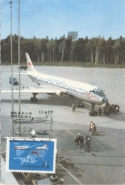 1965 RUSSIA - Aeroflot TU-104