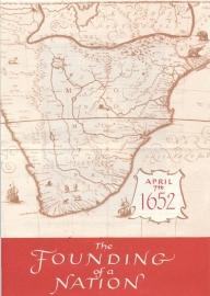 æ 1952 - Jan van Riebeeck - Folder Engels
