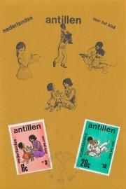 ®® 1970 NVPH 430/32 NED. ANT. Kinderzegels