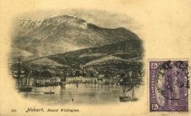 © 1906 - TASMANIA - AUSTRALIA - Mount Wellington
