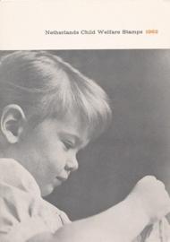 æ 1962 - Kinderzegels Folder Engels