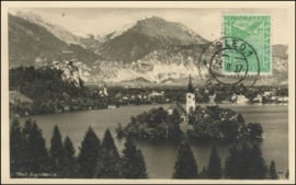 © 1937 YUGOSLAVIA City of Bled