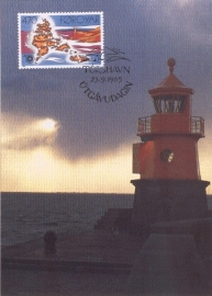 1985 FAROER - Lighthouse Torhavn