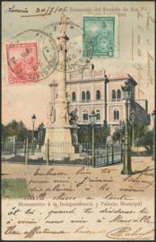 © 1906 ARGENTINA Republic statue Phrygian cap