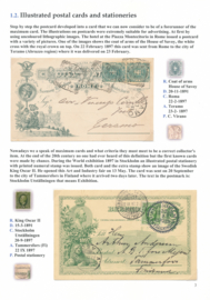 1.2. Illustrated postal cards and stationeries