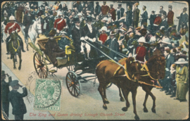 © 1912 - GIBRALTAR King George V