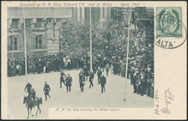 © 1903 - MALTA King Edward VII