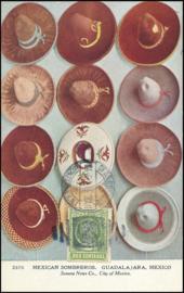 © 1914 - MEXICO Heraldic eagle Coat of arms