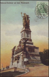 © 1911 - GERMAN REICH - National Statue Germania