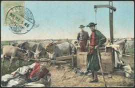 © 1909 - HUNGARY T-shaped sweep well