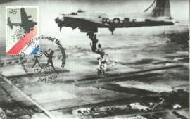 1980 NETHERLANDS Food dropping WWII