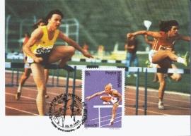 1992 ROMANIA - Athletics Hurdles