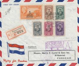 ¤¤¤ 1945 SURINAME Steunfonds