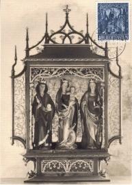 1957 LIECHTENSTEIN Madonna