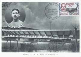 1960 FRANCE - Running athlete Jean Bouin