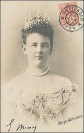© 1903 NETHERLANDS Queen Wilhelmina