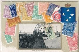 © 1908 - VICTORIA AUSTRALIA - Queen Victoria Stamp