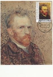 PG004 Van Gogh Self portrait 1887