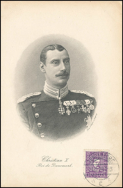 © 1924 - DENMARK King Christian X