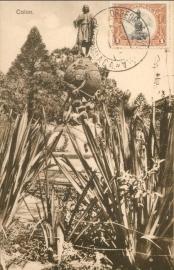 © 1934 GUATEMALA Statue of Columbus
