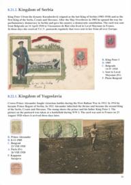 8.21.1. Kingdom of Serbia and 8.22.1 Kingdom of Yugoslavia