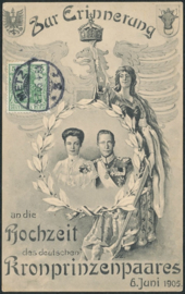 © 1905 - GERMAN REICH - Figure of the Germania