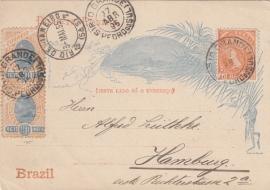 © 1895 - BRAZIL Sugar loaf mountain