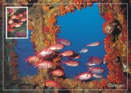 ®® 1991 NVPH 972 NED. ANTILLEN Tropische vissen