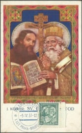 © 1937 CZECHOSLOVAKIA Sts. Cyril and Methodius