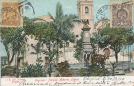 © 1910 - MEXICO Heraldic eagle Coat of arms