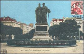 © 1911 SWITZERLAND Helvetia Monument Genève