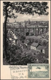 © 1936 LUXEMBOURG City overview