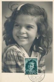 ®® 1948 - NVPH 202 CURAÇAO Meisjesportret