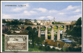 © 1933 LUXEMBOURG City overview