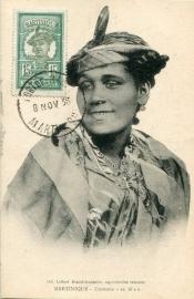 © 1938 MARTINIQUE Creole woman costume