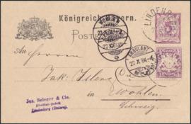 © 1884 - BAVARIA Coat of arms