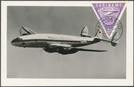 ®®® 1960 - CATA 343 - SURINAME Constellation