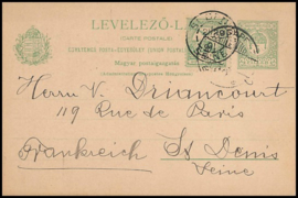 © 1901 - HUNGARY St. Stephen's crown
